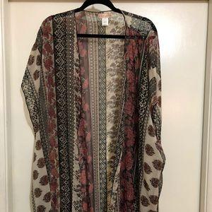Kimono from Nordstrom